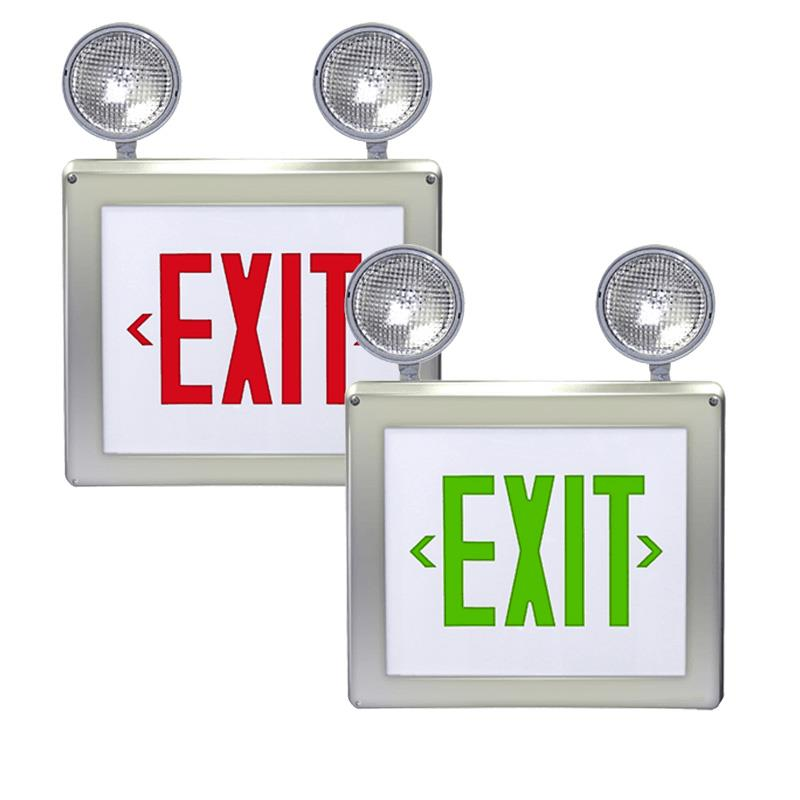 Explosion-Proof  Class 1 Div 2 Exit Sign with Emergency Lights Series: EEXC