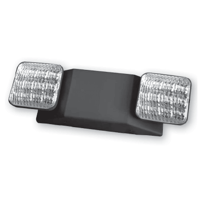 Remote Capable LED Emergency Light Series : ELRFH