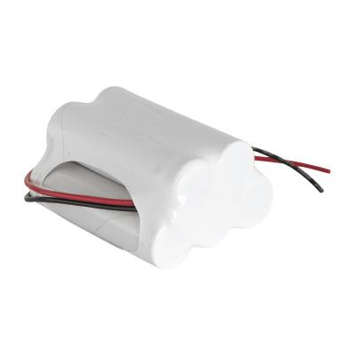 6.0v 3500mAh AA NiCAD Rechargeable Battery Pack - Configuration 28