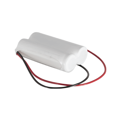 2.4v 600mAh AA NiCAD Rechargeable Battery Pack - Configuration 1