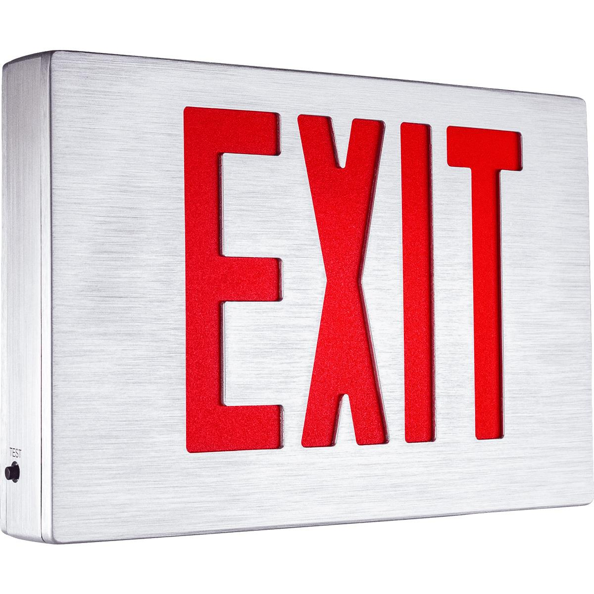 Alumaxus Exit Sign With Durable and Stylish Housing Series EEAE