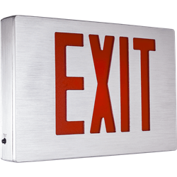 NYC Approved Aluminum LED Exit Sign Series: EENA