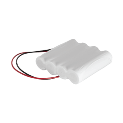 4.8v 2800mAh AA 1x4 Inline NiCAD Rechargeable Battery Pack - Configuration 3