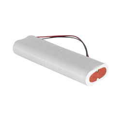 4.8v 2800mAh AA 2x2 Inline NiCAD Rechargeable Battery Pack - Configuration 19