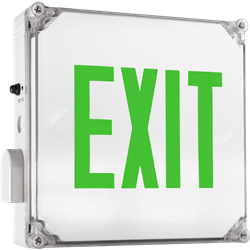 Wet Location Exit Sign Series: EEWL