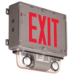Hazardous Location Combination and Emergency Battery Unit Series : EEXH