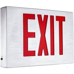 Alumaxus Aluminum Exit Sign With Durable and Stylish Housing Series EEAE