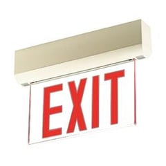Briosa Series Edge-Lit Exit Signs Surface Mount : EEBELS