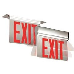 Variata Series Edge Lit Exit Sign Adjustable Edge Lit Exit Sign : EEVESR