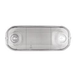 Wet Location Semi-Recessed MR-16 Emergency Light Series  : ELMR16WP