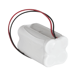 4.8v 2800mAh AA NiCAD Rechargeable Battery Pack - Configuration 10