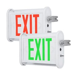 NSF-Rated Hose Down Area Exit Sign Series: EEEH