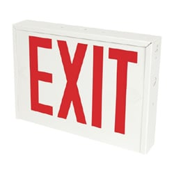 NYC Approved Steel LED Exit Sign Series: EENS