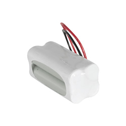4.8v 1200mAh AAA NiCAD Rechargeable Battery Pack - Configuration 10