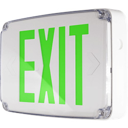 Compact Wet Location Exit Sign Series: EEWC